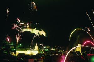 Silvester in Kulmbach